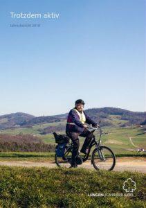Titelbild Jahresbericht Lungenliga - Text und Konzept von dialogika