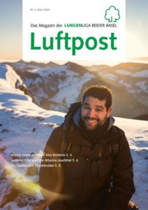 Titelbild des Kundenmagazins Luftpost
